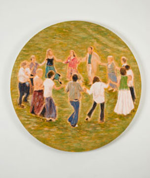 Circle Dance, 2007, oil on canvas,