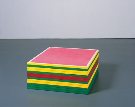 Platform, , 2007, acrylic on canvas, 37,5 x 90,2 x 90,2 cm