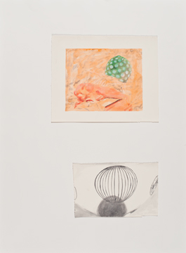 First, Second and Third Draft, 2010, acrylic on paper, 76 x 56 cm