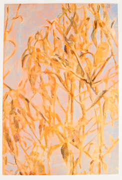Branches and Foliage, 2012, Acrylic on paper, 104 x 69.5